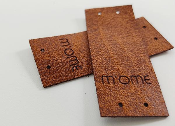 M-ome horgolt lakberendezési kiegészítők címke